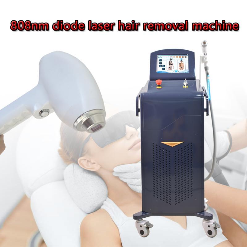 Ponto de Congelamento Sistema 808nm Diode Laser indolor e segurança rápido depilação permanente máquina Equipamentos Beauty 20 milhões de tiros