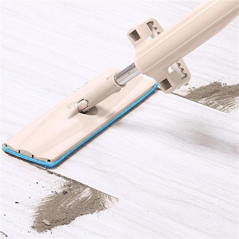 Aço inoxidável Multi Função Mop Preguiçoso Pessoas Mão Lavar Livre Plana Mops Auto Extrusão Tipo de Terra Ferramenta de Esfregar 12kx L1