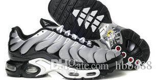 Nuovi uomini Air TN scarpe casual vendono come le torte calde Moda aumentata ventilazione scarpe casual Olive Cargo GS scarpe da ginnastica, spedizione gratuita