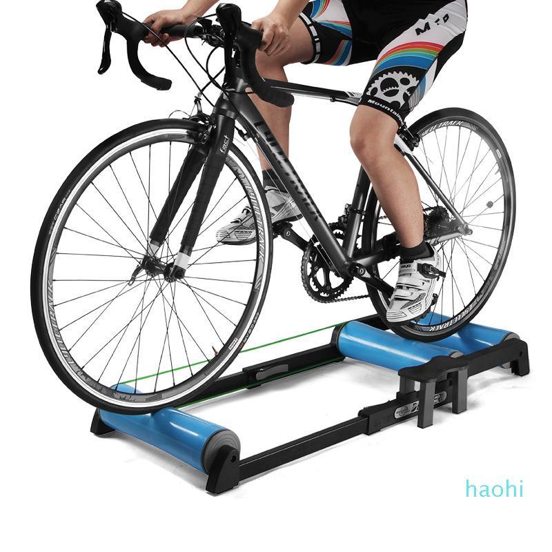 Оптово-DEUTER Крытый велосипед езда платформы из алюминиевого сплава Mute Упражнение Home Gym Регулируемая MTB дорожный велосипед Роликовые велосипед Trainer