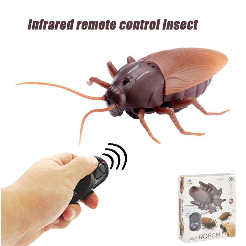 Infrared RC Remote Control Animal Toy Kit for Kids Adults Smart Cockroach Spider Ant Prank Jokes Radio Insect for Boys Toy Y200413