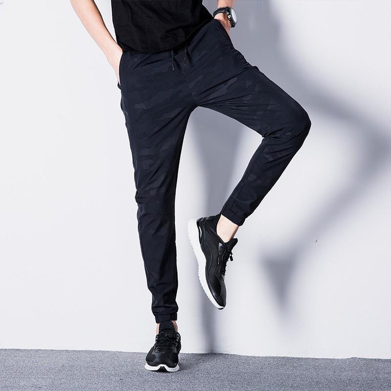Automne 2018 Printemps Marque Pantalon Harem Slim Fit hommes chino Pantalons pour hommes de haute qualité en coton Pantalons simple Joggers Plus Size C18121101