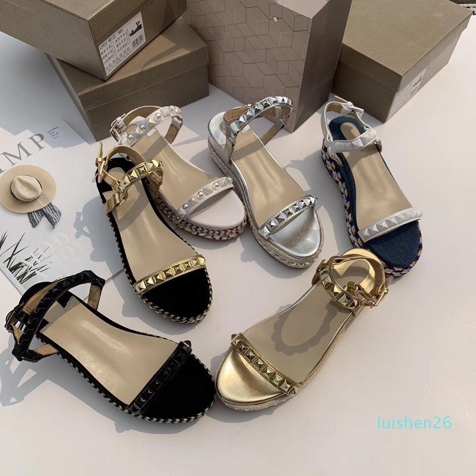 Contenitore di pattini Incluso Luxury Designer sandali delle signore di lusso di marca donne del vestito blu di colore del pattino Nuovo design di lusso sandali AF26