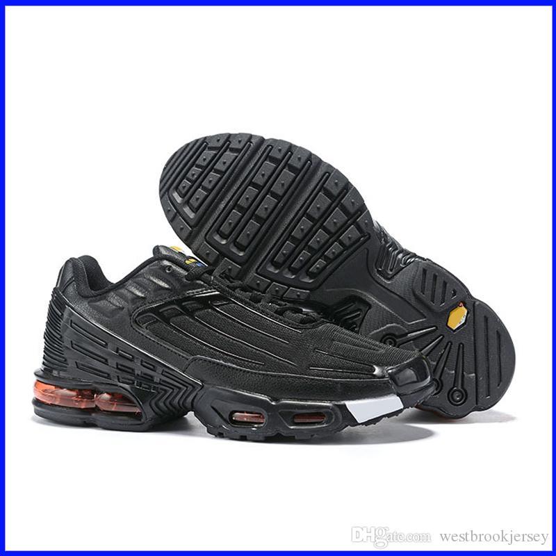 Marca TN Plus 3 zapatillas de deporte para hombre del diseñador de zapatos al aire libre Tns zapatos de gimnasia de Blanco Negro Azul Rojo Deporte Formadores Chaussures envío