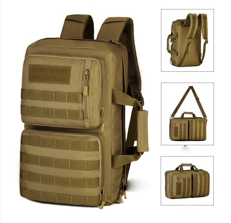 35L 야외 여행 가방 다목적 노트북 어깨 가방 위장 남성 가방 다기능 메신저 수하물 가방