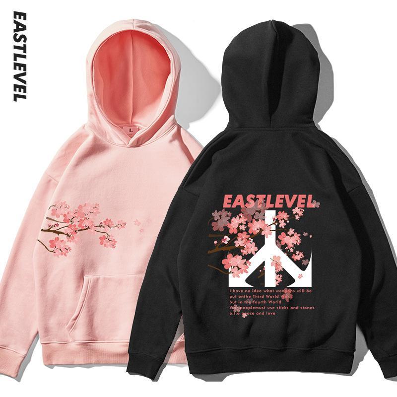 Модный дизайнер Мужские толстовки с цветочным принтом роскошные мужские куртки для осеннего теплого прилива бренд толстовки для мужчин размер S-2xl оптовые продажи