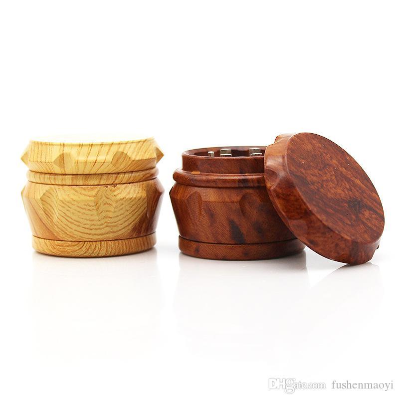 Новая травяная мельница для курения табака, 3 части смолы, мельница для древесины, зерно, сплав цинка, шестерня 42 х 33 мм