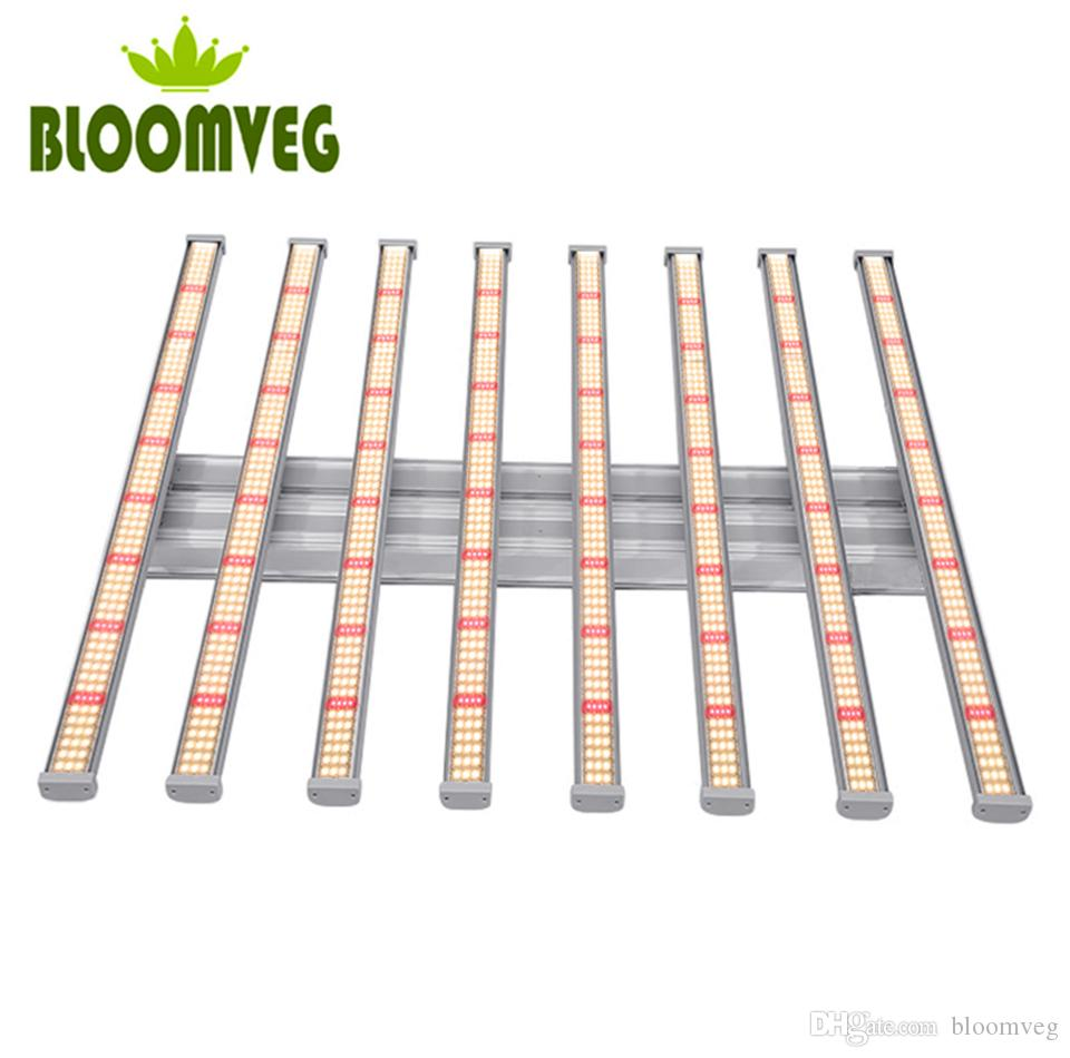640W 8BAR Led plant light dimming device Full spectrum 600w 8bars Samsung led grow light 640W with LM281B 3000K 3500k 660nm Chips and