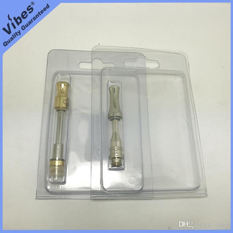 Cartucho Vape Vazio Blister Embalagem para 0.5 ml 1 ml de Óleo Grosso Carrinhos 92A3 G5 Dank Caneta Atomizador - Aceitar Inserir OEM Orders