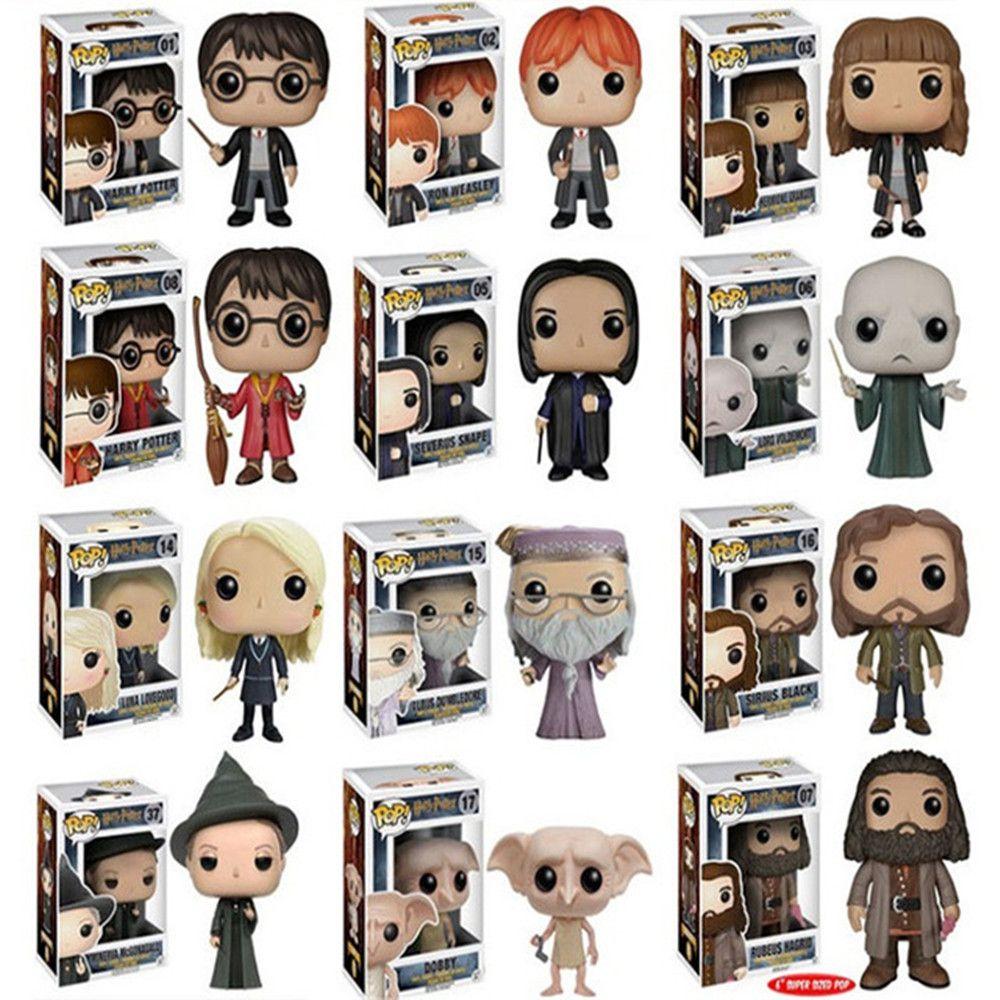 Harry Potter Hermine Granger Severus Snape Action Figure Spielzeug Funko Pop