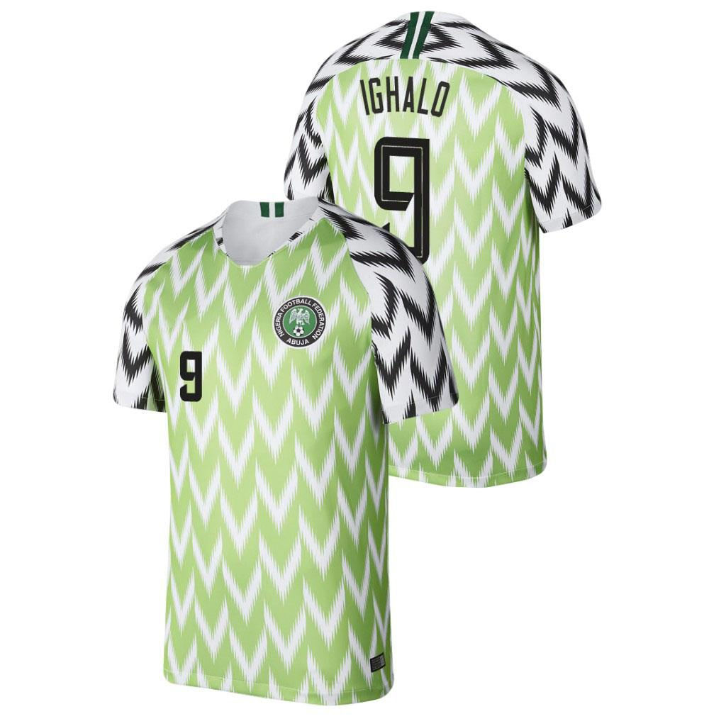 2020 Tops Nigéria Futebol Nigéria Futbol Camisas do futebol de Nigéria Camisetas Camisa nigeriana Kit Maillot Maglia