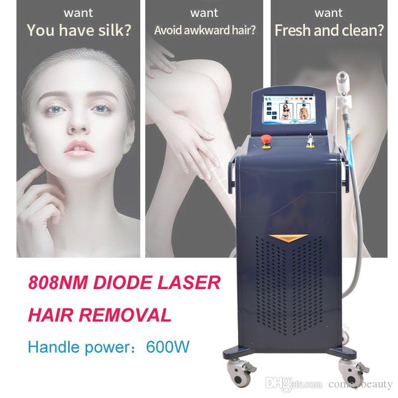 Máquina de depilación láser de alta calidad para el hogar máquina de depilación láser de diodo 808nm máquina de depilación rápida con uso de salón de crema