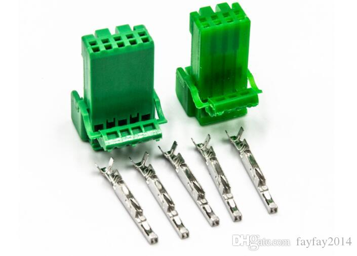 Frete grátis 300sets 5 Pin impermeável fio de conectores automotivos IL-AG5-5S-S3C1 Car Light Lamp conector do soquete