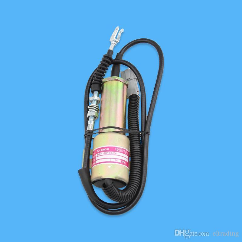 Заглохание электромагнитный закрыли соленоид соленоид останова 11E1-60100 24В подойдет экскаватор R210