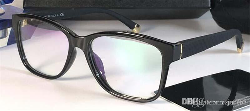 Nuova Best Selling Moda Occhiali Ottici Occhiali da donna Square Semplice cornice popolare generoso stile Casual Style Transparent Lens Telaio 3324