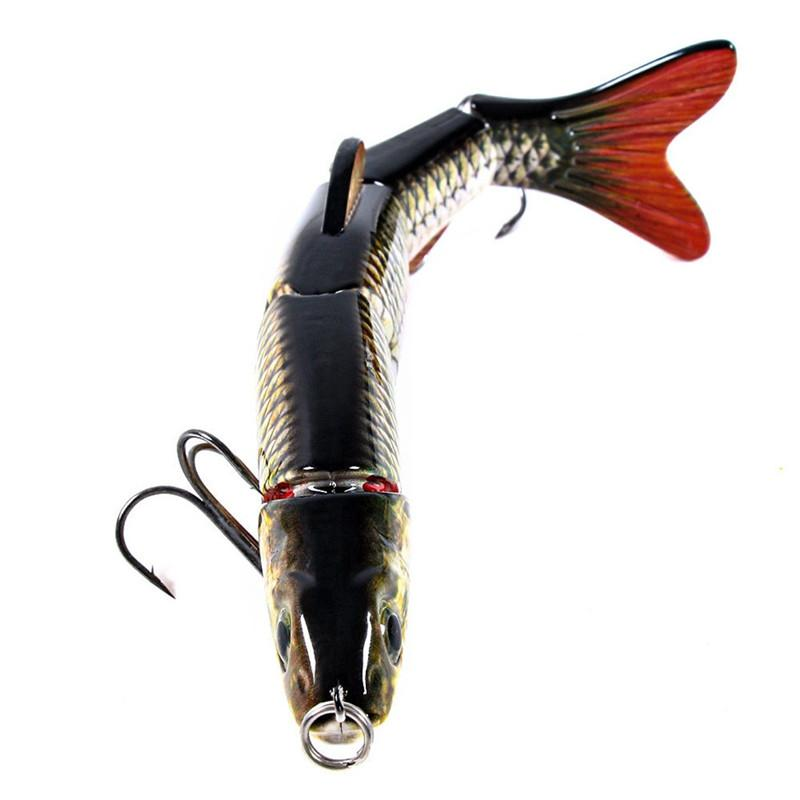 1PC Fishing Lures 15.5CM Plastic Hard Bass Baits 5 Colors Lures Fake Artificial fishing bait #2G30