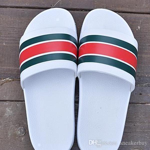 Новый дизайнер тапочки передач днища мужские полосатые сандалии причинной нескользящей летом huaraches слайд вьетнамки тапочки