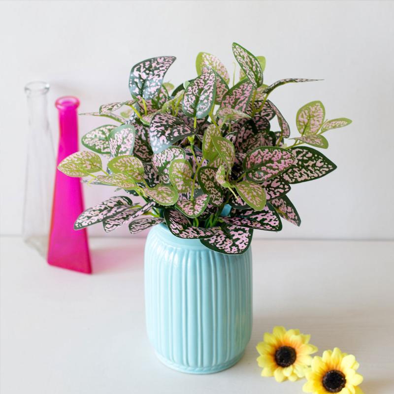 Моделирование листьев 7 Форкс / Bouquet искусственные растения Растения Балкон Сад Пейзаж Украшение Аксессуары поддельные цветы