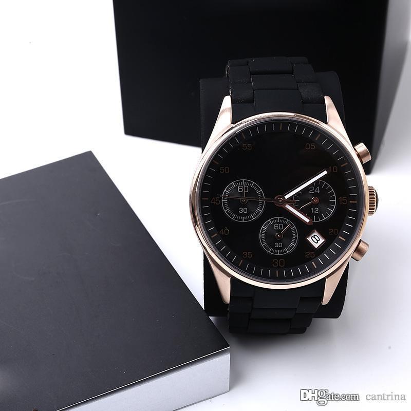 أعلى جودة الرجال ووتش AR5905 AR5906 AR5919 AR5920 كلاسيكي المرأة ساعة اليد للرجال ووتش الأصلي مربع مع شهادة