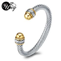 Joyería joyería del ashion UNY los brazaletes único Luxry brazalete de la vendimia Marca antigüedad de la manera de los brazaletes de las pulseras de San Valentín regalo de Navidad ...