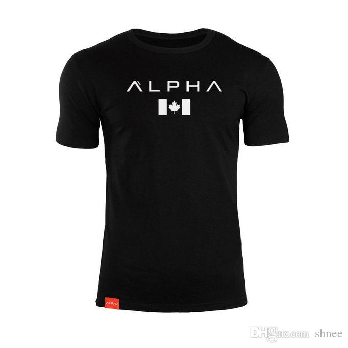 Yeni Yaz Kanada Maple Leaf tişörtler Moda Hip Hop Erkekler Kadın T Gömlek Casual Tee Gömlek Kısa Kollu Sport tişört Giyim Üst