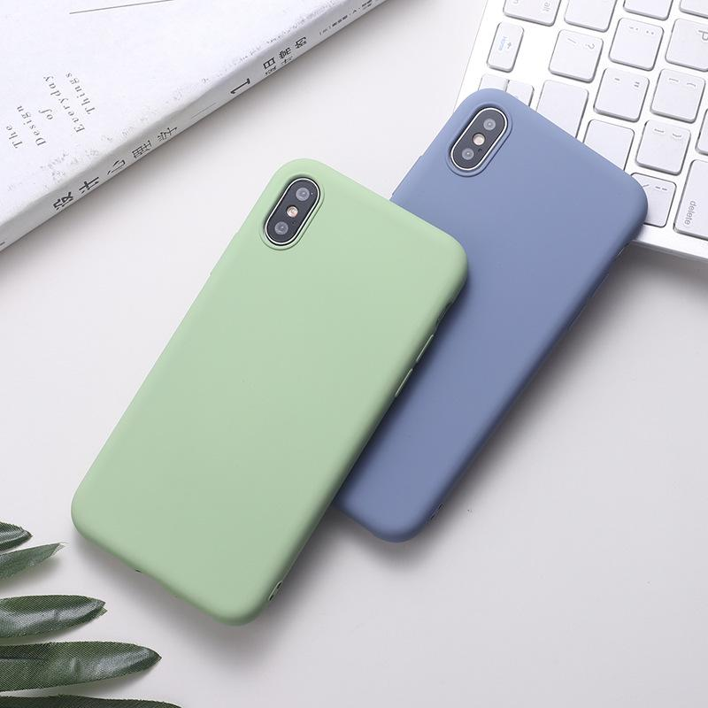 2020 Original Silicone Case For IPhone SE 11 Pro Max Xs Xr ...