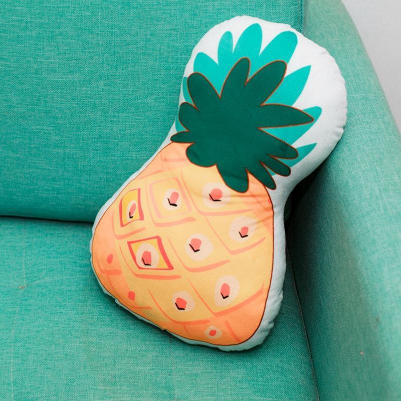 Natürliche PineappleCactus Plüsch-Kissen weich Doppel Druckereien Plüschtiere Heim Sofa Dekoration Puppe Kissen Freunde Geschenke