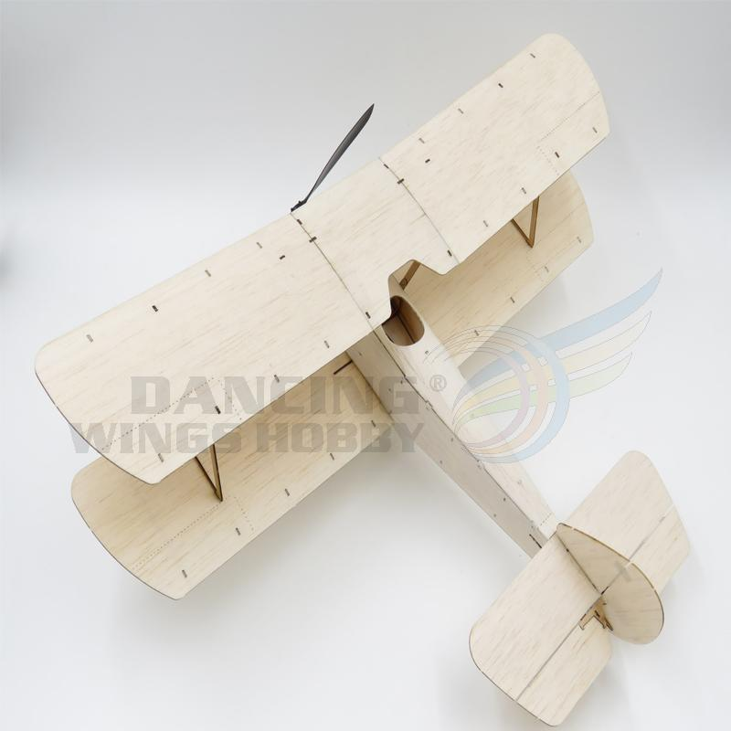 Free Shipping Sopwith Pup RC Plane Balsa Wood 378mm Warbird Aircraft Kit with Brushless Power System Aeromodelling Kit K6