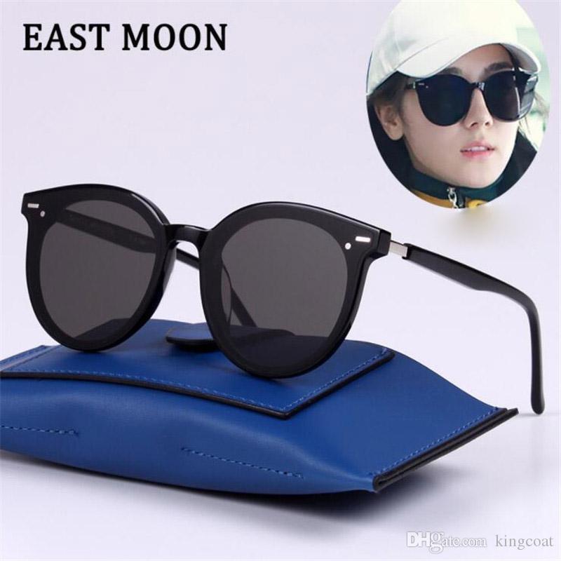 Ins moda moldura de metal lente de vidro design da marca piloto óculos de sol dos homens das mulheres óculos de condução óculos de proteção uv400