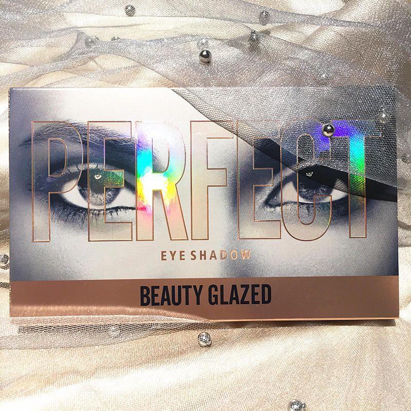 Güzellik Sırlı Makyaj 18 Renk Çıplak Göz Farı Palete Su Geçirmez gölge Paleti Pırıltılı Mat Göz farı Paletleri Kozmetik