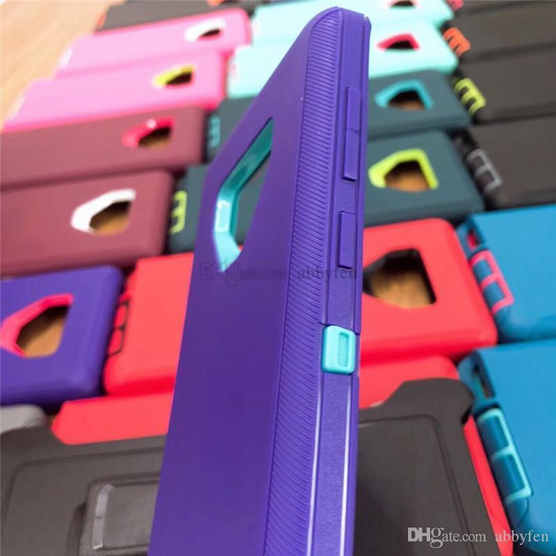 حالات الهاتف Defender ل iPhone11 Pro Max XS X 8Plus 7 6S الثقيلة درع TPU PC 3 في 1