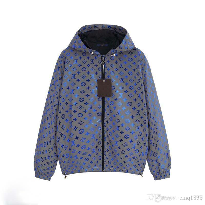 uomini nuove donne di arrivo del cappotto di polvere giacca con cappuccio di polvere di modo del cappotto di stampa giacche abiti leggeri di protezione solare UNISEX il millionaie