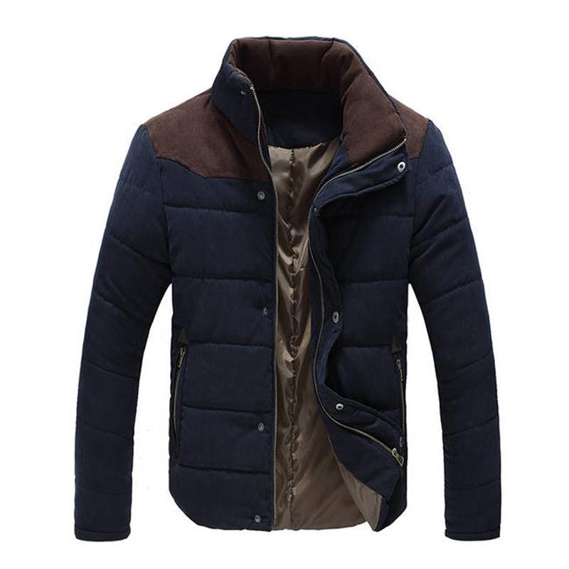 Новые куртки Мужчина Горячей продажа Толстых высокого качества Осень Зима теплой Outwear Марка пальто Повседневной Твердая Мужская Windbreak Куртка Одежда