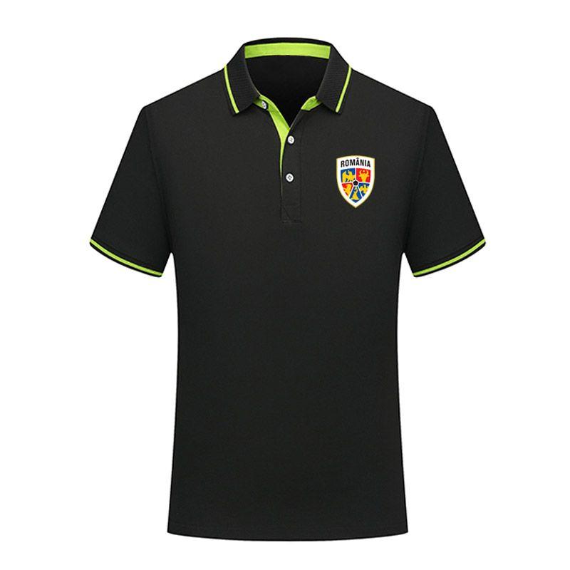 2020 Rumänien Fußball Polos Fußball-Jersey-Sport Marke POLO-Kurzschluss Hülse Ausbildung polos erwachsenen Fußball Polo Shirts POLO Fans TOPS