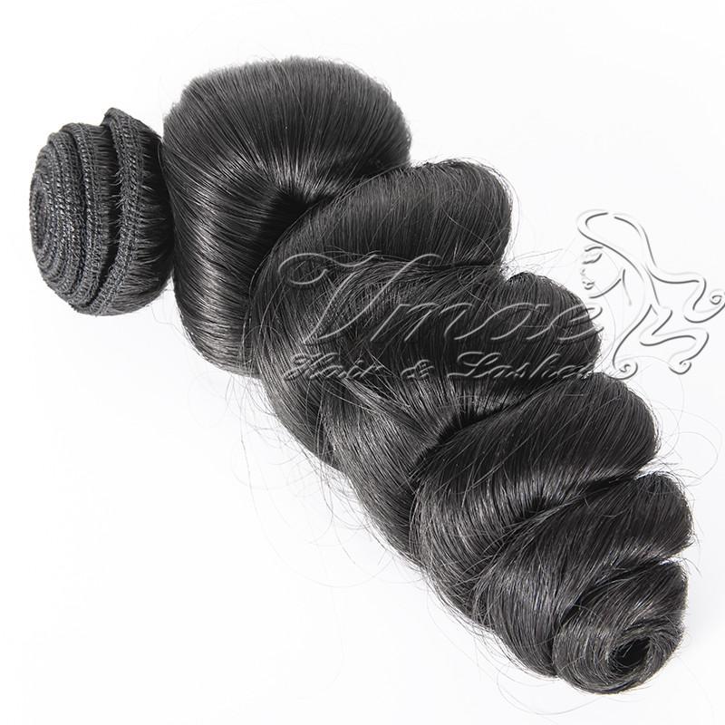 VMAE Бразильских Надувной Сыпучей волны волосы девственница 3 Связки Lot Real человеческих волос Свободной волна Необработанной Дешевые красоты Бразильского волос