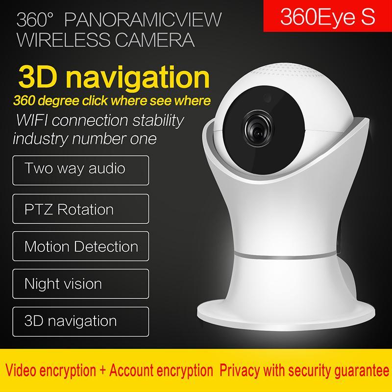 1080p Wireless IP Camera WiFi Home Security Video Surveillance CCTV Camera HD IR Night Vision Baby Monitor Smart Auto Tracking