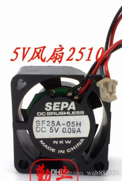 Оптовая новый оригинальный SEPA 2510 2.5 CM 5V 0.09 A SF25A-05H вентилятор охлаждения