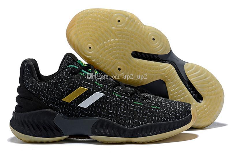 36170c3637fe6 Compre 2019 Joel Embiid Porzingis Mitchell Pro Bounce Low Zapatos Al Aire  Libre Para La Calidad Superior Negro Rojo Entrenadores Para Hombre  Zapatillas De ...