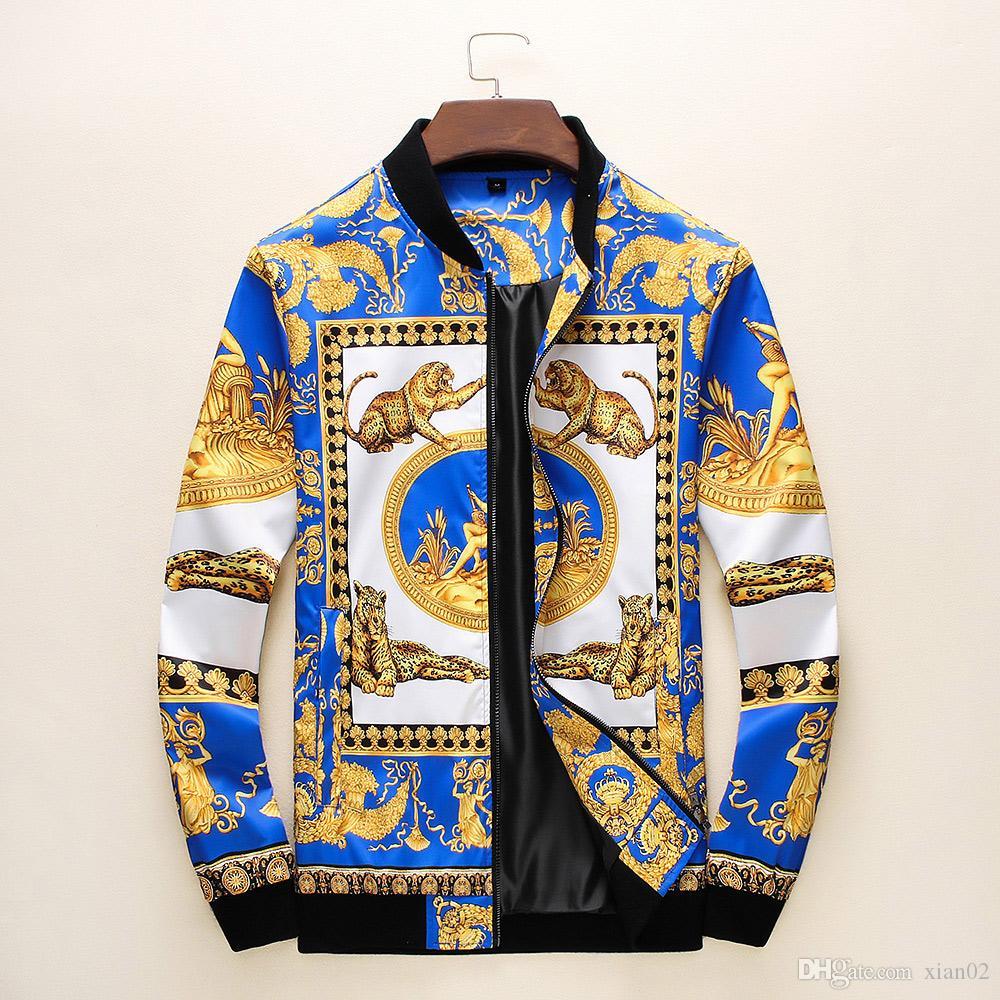 19 anni il trasporto libero giacca casual sportswear cerniera marchio di moda felpa con cappuccio Slim italiana nuova giacca -B maschile di lusso moda maschile autunno