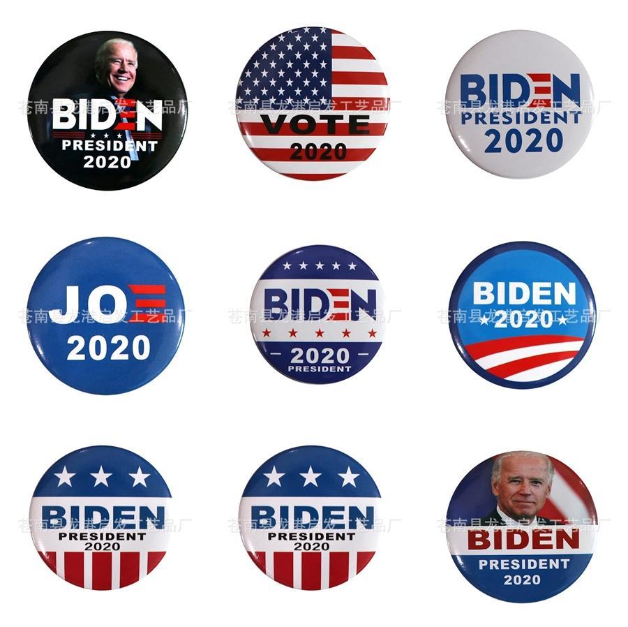 10 PC 1 Alas bordado de la corona Biden insignia parches para Plancha para la ropa Patch apliques Accesorios de coser etiquetas en la ropa I # 63