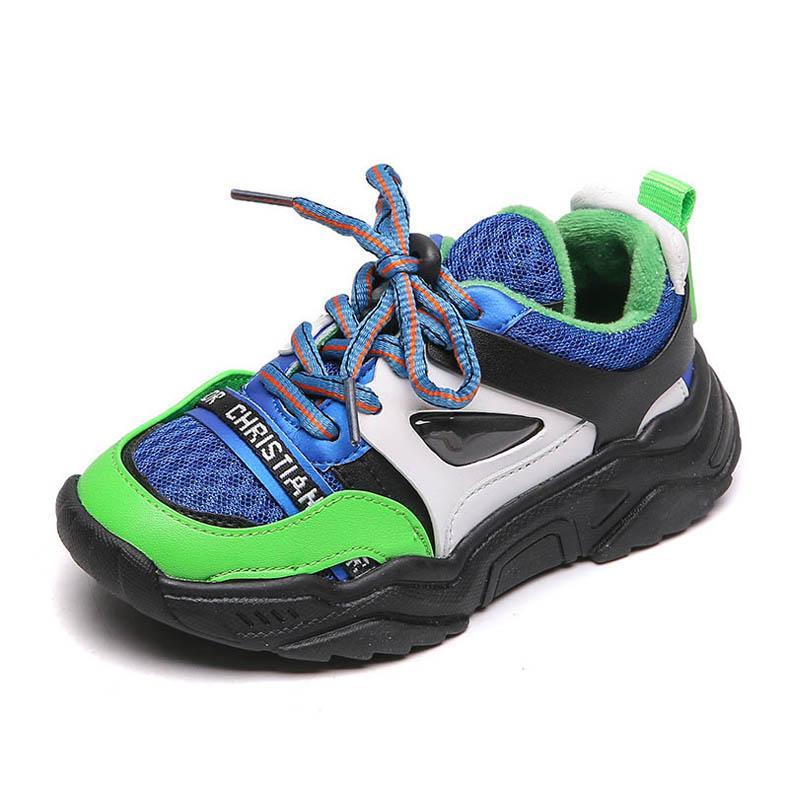 2020 nuevos zapatos de los niños Chaussures enfants niños zapatillas de deporte de los niños formadores niños Zapatos niños zapatos casuales zapatillas de chicos chicas formadores B234