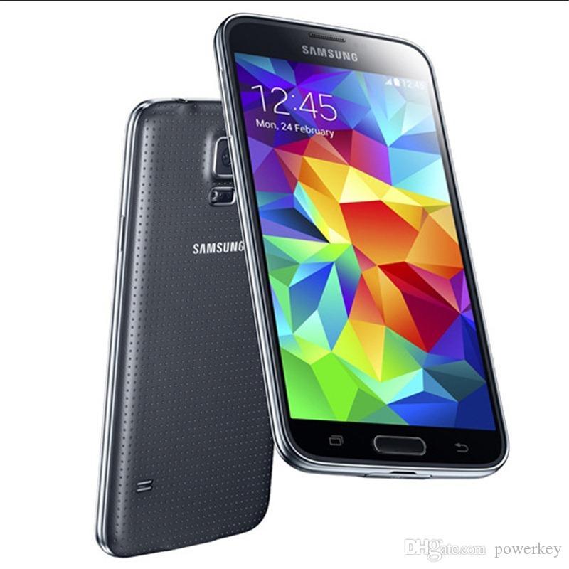الأصل سامسونج غالاكسي S5 I9600 G900A G900T G900V G900P G900F مفتوح تجديد 3G4G 16MP كاميرا GPS WIFI الروبوت تجديد الهاتف