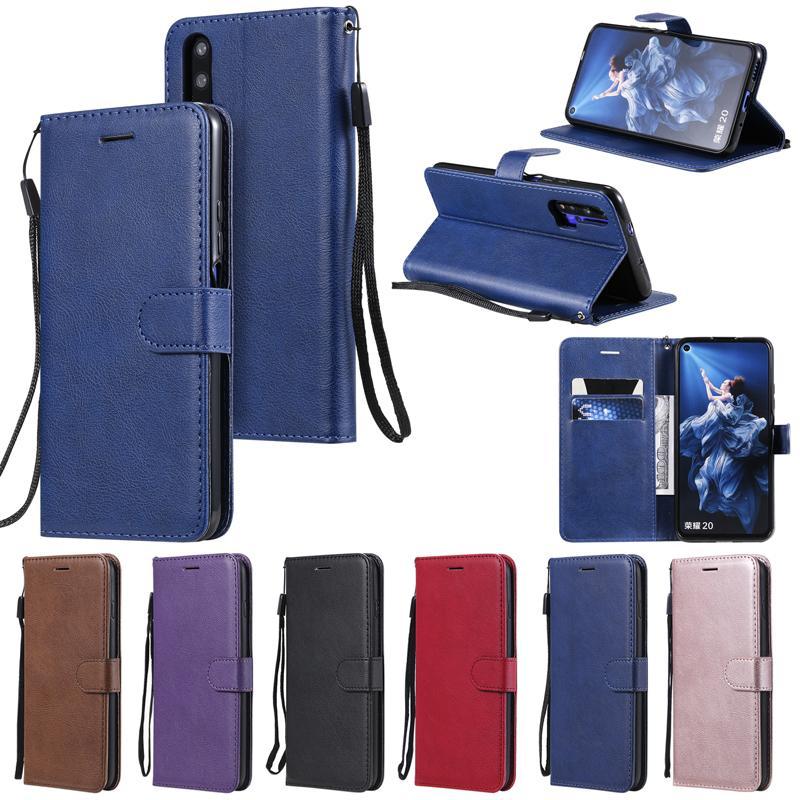 KA flip carteira PU couro caso TPU Capa Para Huawei Nova 3i 4 T5 P30 Pro Companheiro 30 Y5 Y6 Y7 Y9 primeiro-P20 Lite P Smart Plus 2019 Honor 20 9X