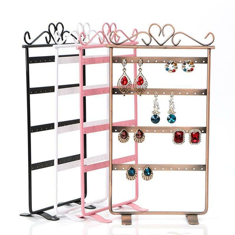 Ear Stud Earring Display Organizer Holder Rack Jewelry Display Stand Shelf