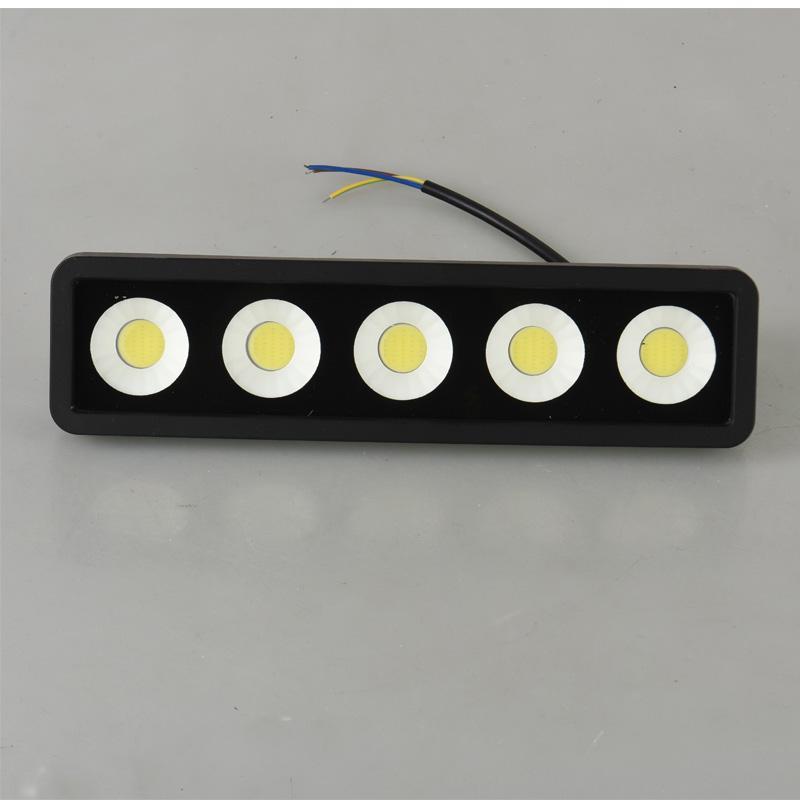 قاد COB 50W أضواء كاشفة في الهواء الطلق مصباح IP66 للماء 100W SMD الكاشف حديقة جدار الفيضانات ضوء tracklight داخلي