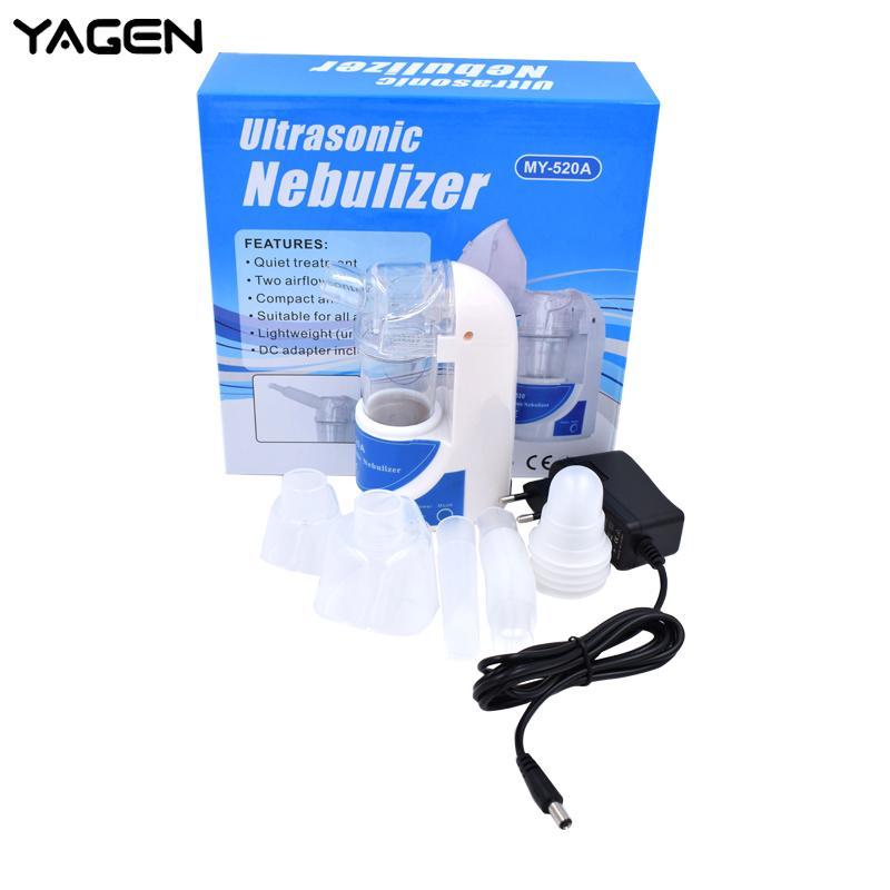 Saúde em casa Nebulizador Inalador Automizer Portátil Cuidados Com As Crianças Nebulizador Névoa Descarga Asma Inalador Mini Automizer