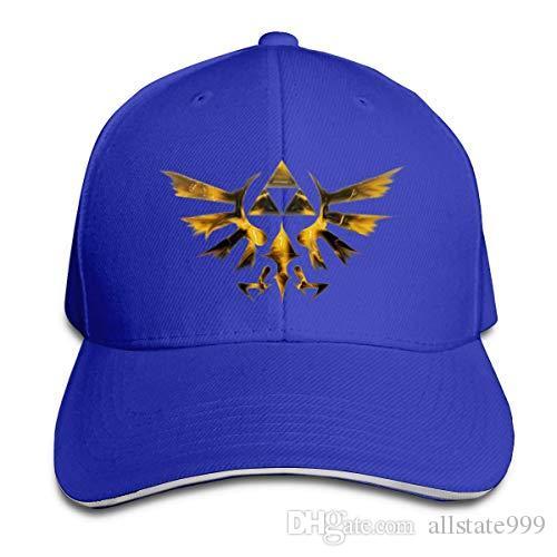The Legend of Zelda Mens Baseball Cap Hip-Hop Hat Adjustable Snapback Sport