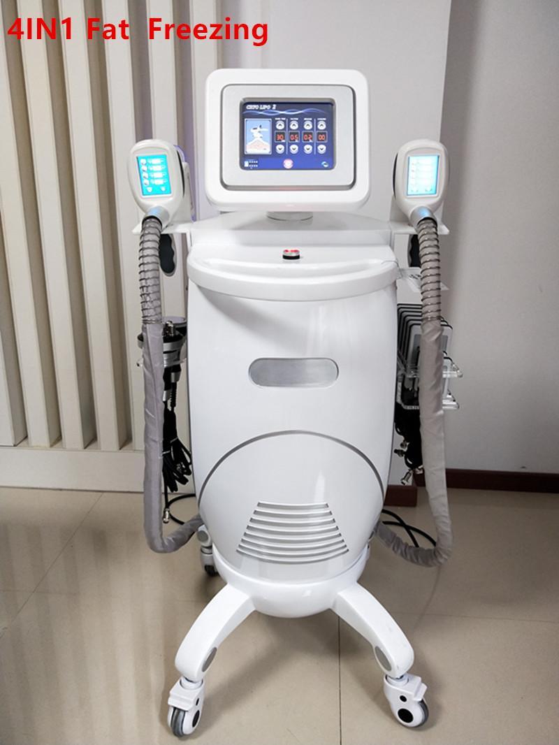 Professional Best Cooling Cryo Fat Freezing New Slim Freezer Lipo Cryotherapy RF Cavitation Slimming Machine For Sale