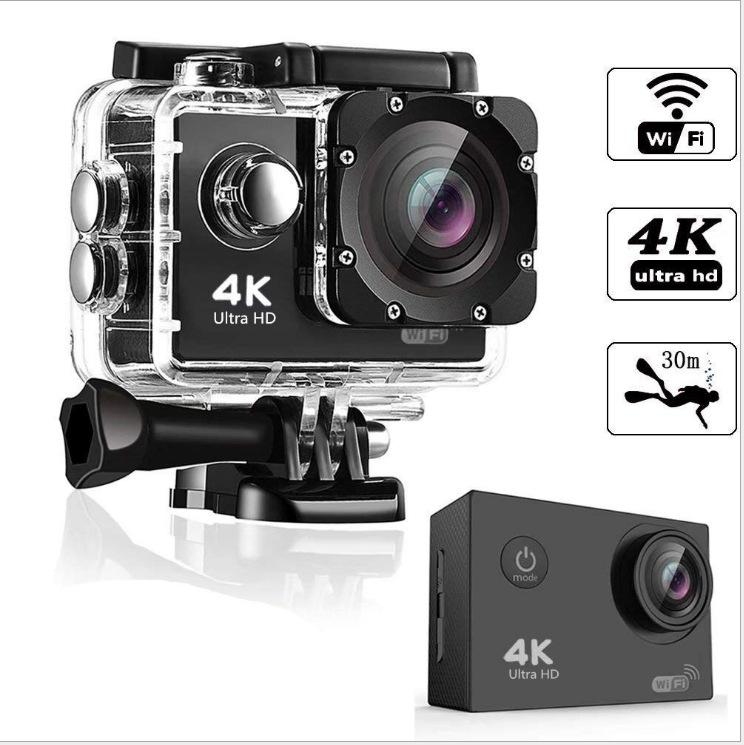 Ultra HD 4K Sport Action Camera 30m WIFI Waterproof Video Camera 16MP 1080P 2.0 Inch LCD Helmet Cam Diving Recorder