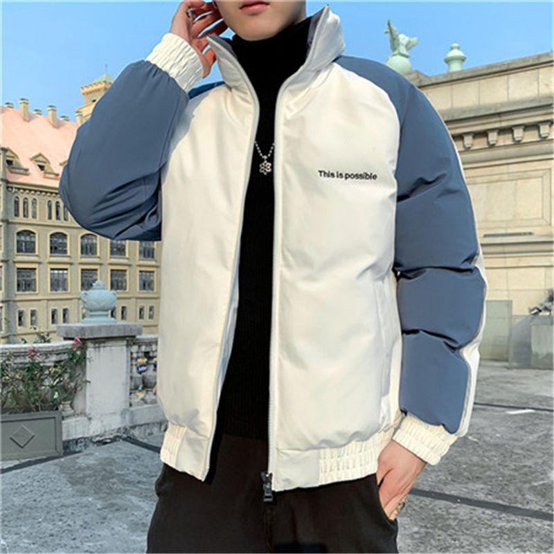 New Designer à manches longues Veste Manteau d'hiver Sports de plein air Marque Windrunner avec fermeture éclair coupe-vent hommes Patchwork Manteaux M-4XL B103662V